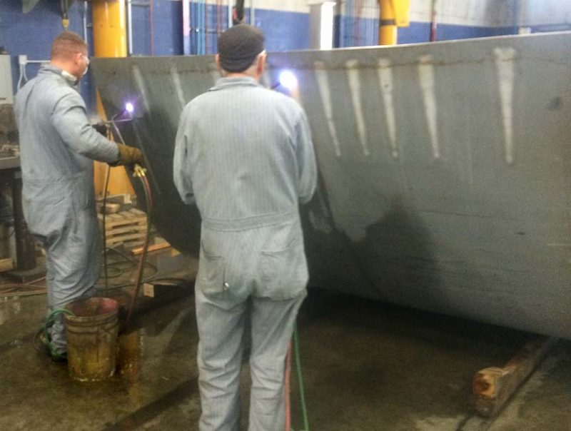 Line Heating Is A Flourishing Metal Fabrication Technology